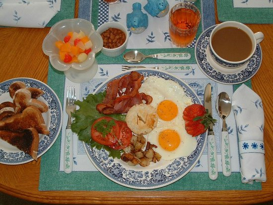 Secret Garden B&B: French Canadian Sampler Breakfast