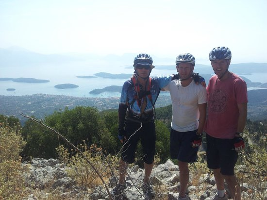 Get Active Biking Tours: Up the mountain from Nydri