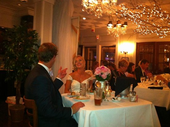 Bistro on Main: Wedding Dinner at Main St. Inn,  Terrific Evening with Family