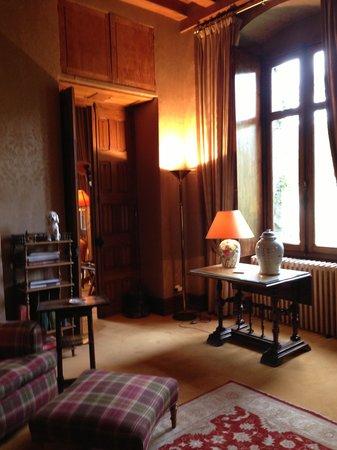Chateau De Riell: Hotel salon