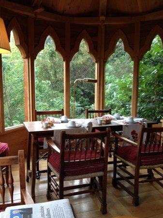 Chateau De Riell: breakfast area