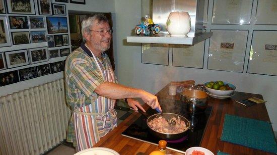 Domaine Mongiron: In der Küche wird wunderbares gezaubert...