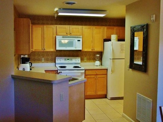 Vacation Village in the Berkshires: Full kitchen was found in our one bedroom unit