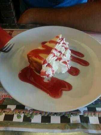 Crazy Driver Diner: cheese cake
