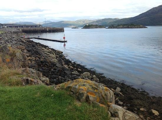 Lochalsh Hotel: photo from the hotel facing South, down the Kyle of Lochalsh