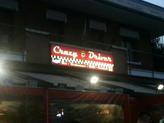 Crazy Driver Diner: insegna