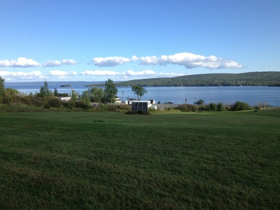 Baddeck Inn: From my patio door