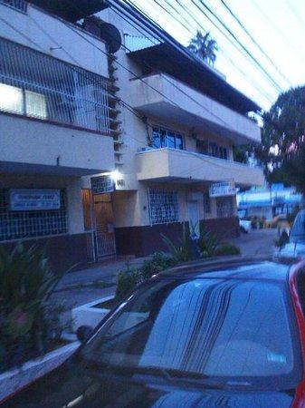Centroamericano Hotel: Alrededores no tan atractivos