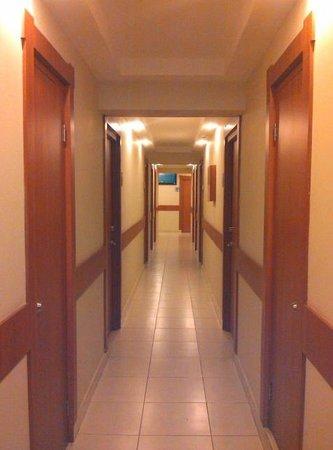 Centroamericano Hotel: Pasillo