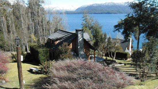 """Cabanas Quetrihue: Vista desde la entrada de la cabaña """"Las Violetas"""""""