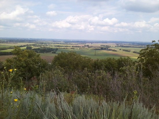 View of Lindsborg Valley from Coronado Heights