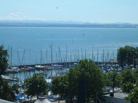 Seehotel Friedrichshafen: View from Roof Terrace