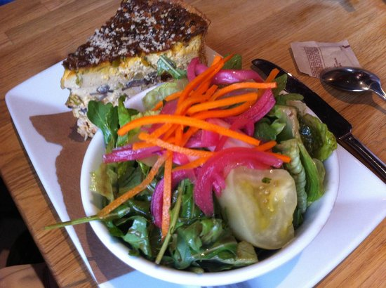 Meat & Potatoes: Quiche of the day