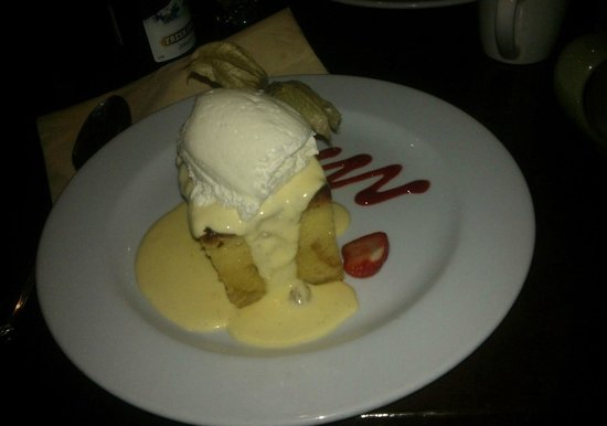 The Larder Restaurant & Brew House: Bread and Butter Pudding - Amazing