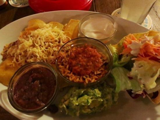 Joe Penas : Chicken enchiladas