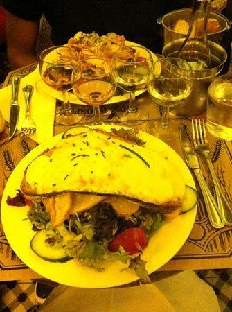 Chez Prosper : salads & rosè wine