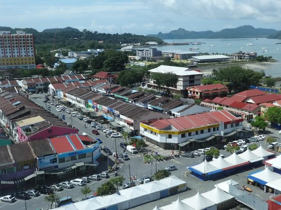 Bayview Hotel Langkawi: View from Executive room 1116