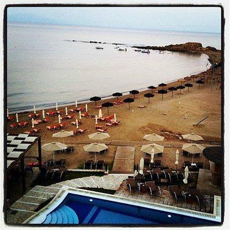 Almira Hotel: πρωινή θέα...