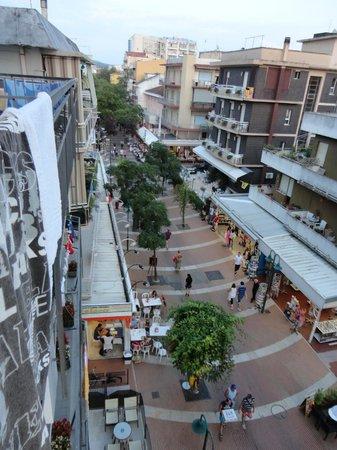 Hotel Major Cattolica: panorama dal balcone camera del 3° piano