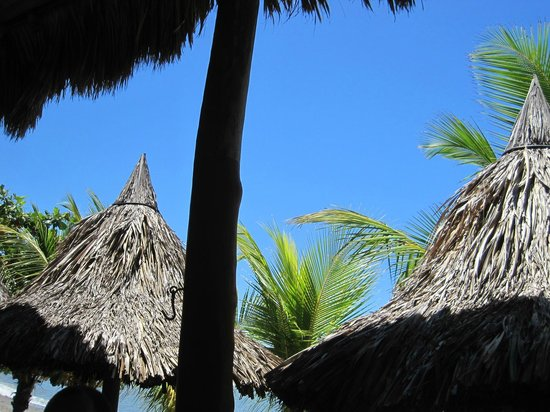 Playa Miles: Out from palapa