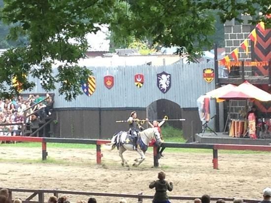 New York Renaissance Faire, Tuxedo Park, NY: jousting
