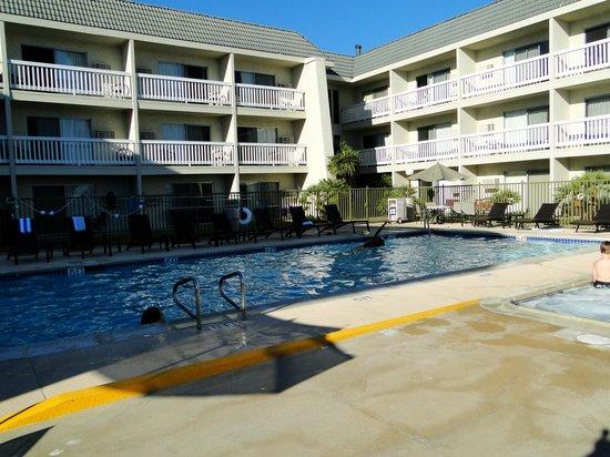 Dana Point Marina Inn : Pool View