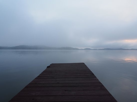 Dandridge, TN: Dock before sunrise
