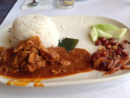 banana leaf rice...