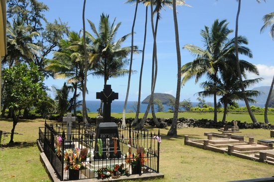 Kalaupapa National Historical Park : Father Damien's Grave