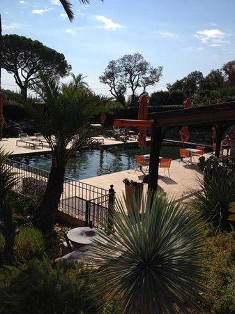 La Bastide de Ramatuelle : piscine