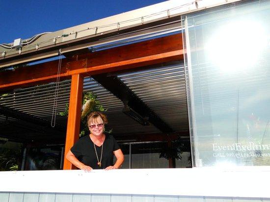 Proud Mary's Restaurant: Karen, our excellent server