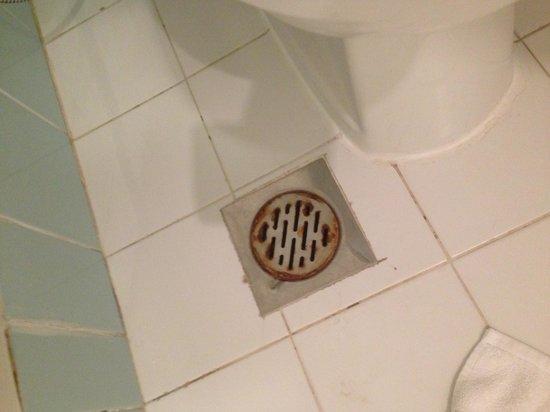 Elite Seef Residence & Hotel: Rusty and old bathroom!