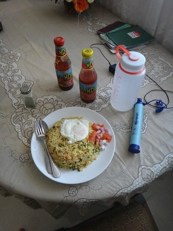 Colombo Airport Hostel Negombo Beach: Egg Fried Rice