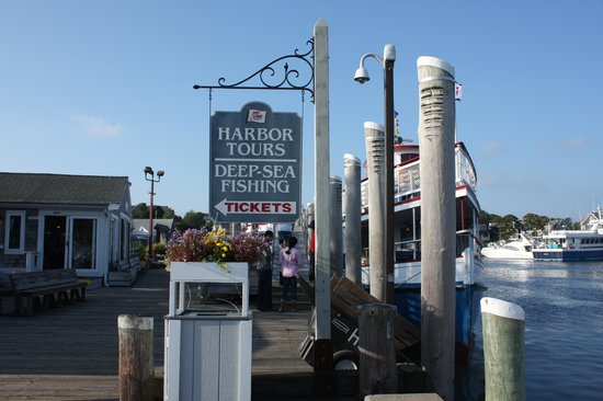 Hyannis Harbor , steps away from Seacoast Inn