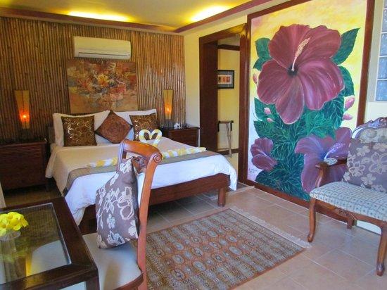 Palm Breeze Villa Boracay Hotel: Deluxe Sea-view Room #3