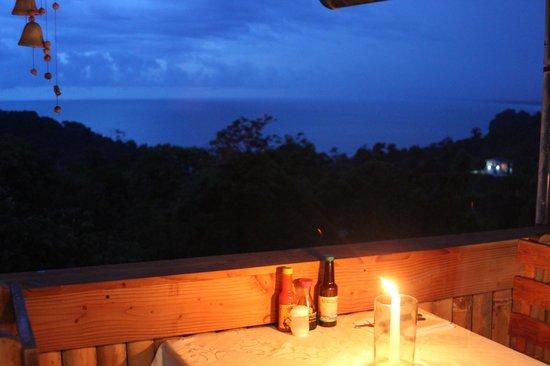 Mar Luna: Sunset view from Restaurant