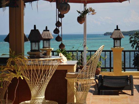 Palm Breeze Villa Boracay Hotel: Corner of the sun-deck