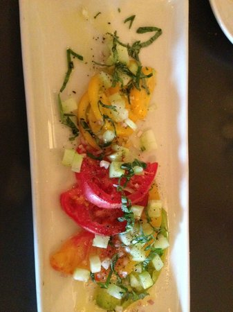 Shade: Heirloom Tomato Salad
