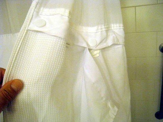 เบสท์เวสเทิร์น พรีเมียร์ นิโคลเลท อินน์: Detachable Shower curtain