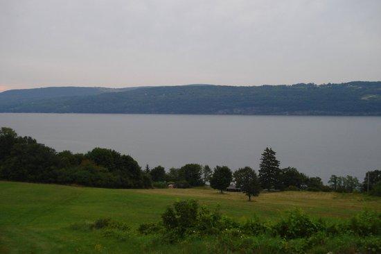 Glen Motor Inn: View from our room balcony