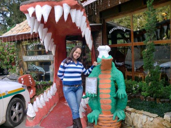 Krokodillo: Almoço no Krokodilo