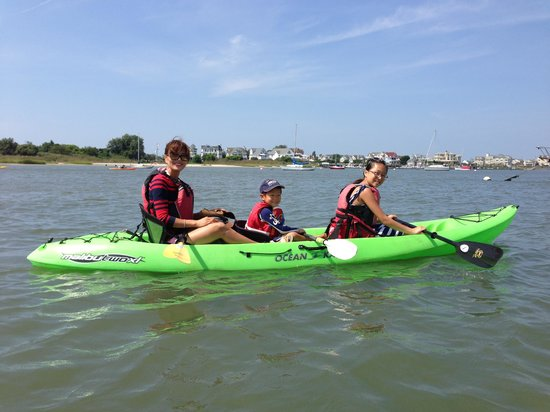 Triple kayak - Picture of Aqua Trails, Cape May - TripAdvisor