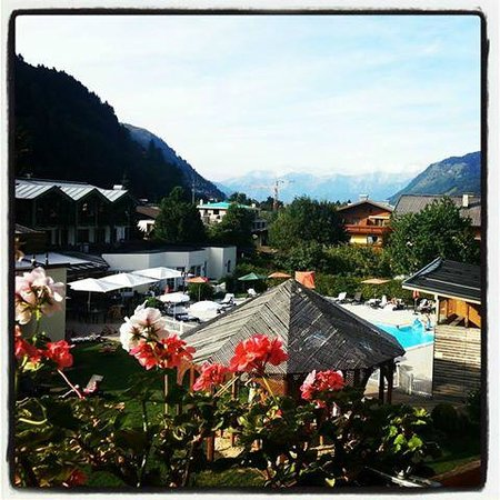 Kinderhotel Zell am See: The stunning view from our room