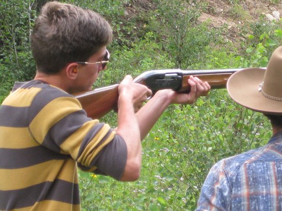 Tumbling River Ranch: Trap Shooting