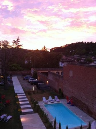 Hotel l'Armateur: coucher de soleil