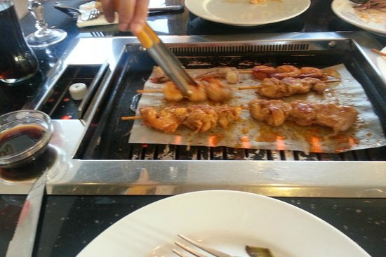 Le roi des gambas : Barbecue brochette
