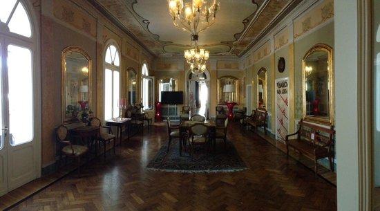 Grande Albergo Ausonia & Hungaria : Salon