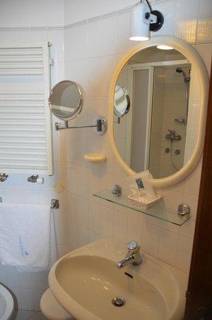Albergo Edelweiss: bagno camera