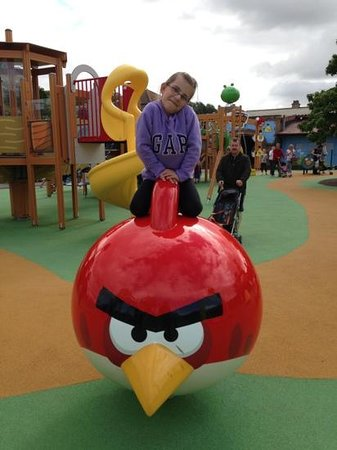 Lightwater Valley Theme Park: angry birds