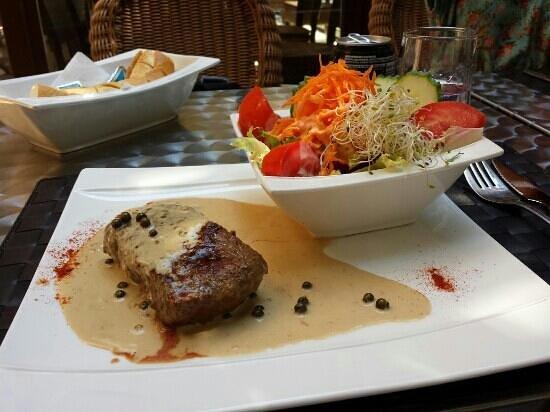 Café y Sal: delicioso bistecs de ternera